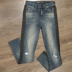 ❤EXPRESS HIGH RISE ANKLE LEGGING JEANS. 0 (25)